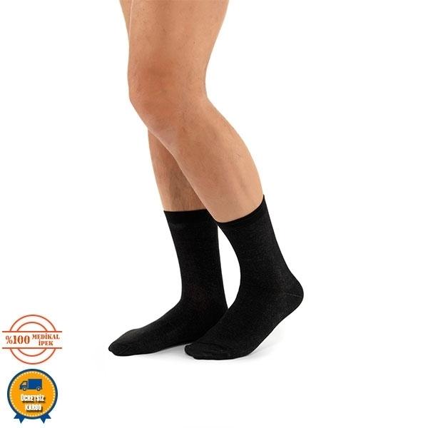 Comfort kısa çorap siyah